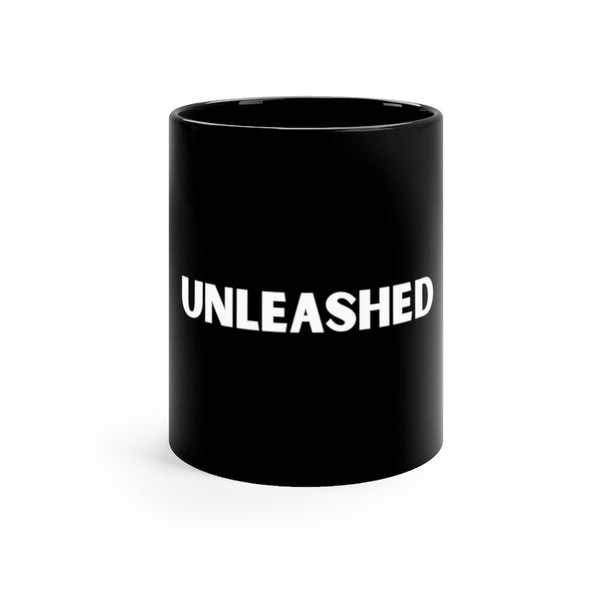 Unleashed Black mug 11oz