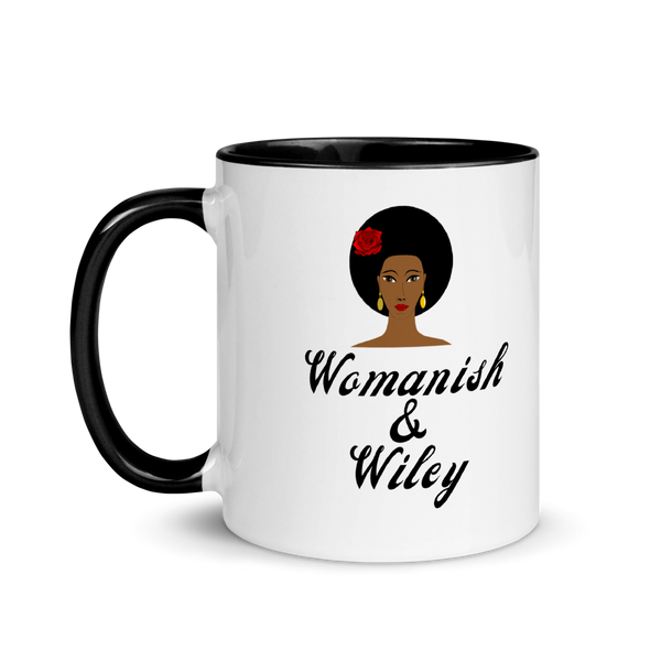 Womanish and Wiley Mug