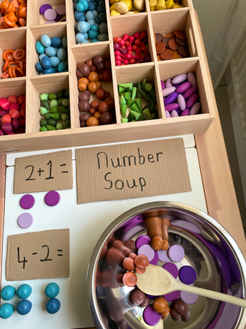 TickiT Wooden Treasures - Number Soup