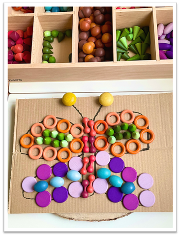 TickiT Wooden Treasure- Activity Butterfly