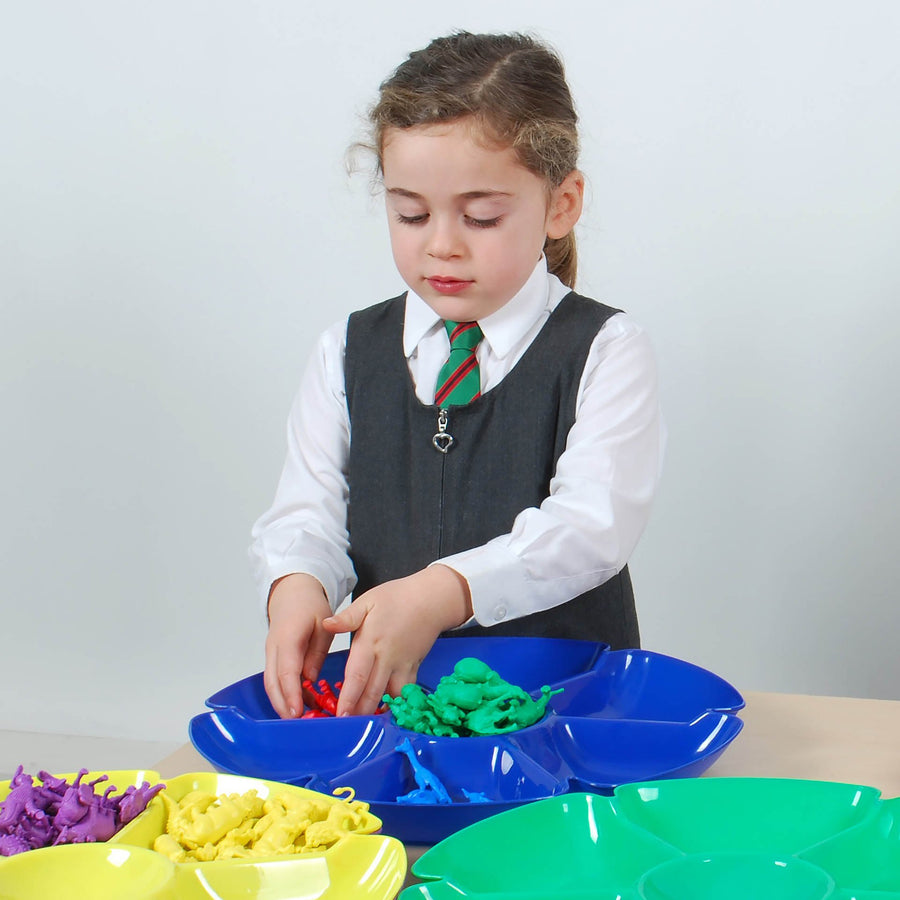Flower Sorting Paint Trays