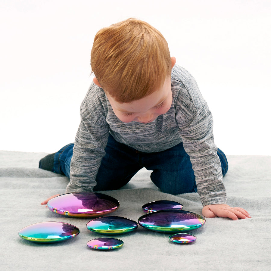 Sensory Reflective Colour Burst Buttons