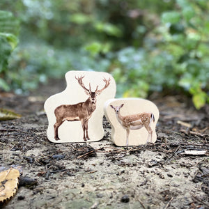 Wooden Forest Animal Blocks