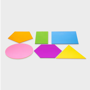 Jumbo Colour Mixing Shapes