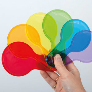Translucent Colour Paddle Set