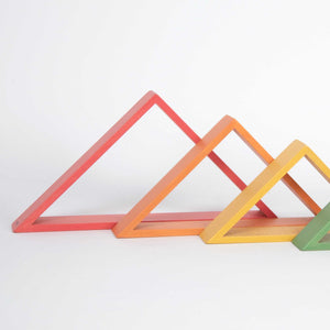 Rainbow Architect Triangles