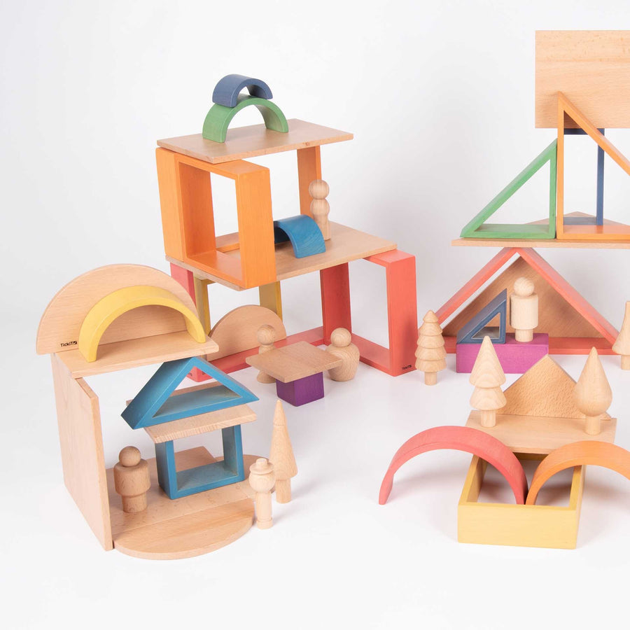 Wooden Community Figures
