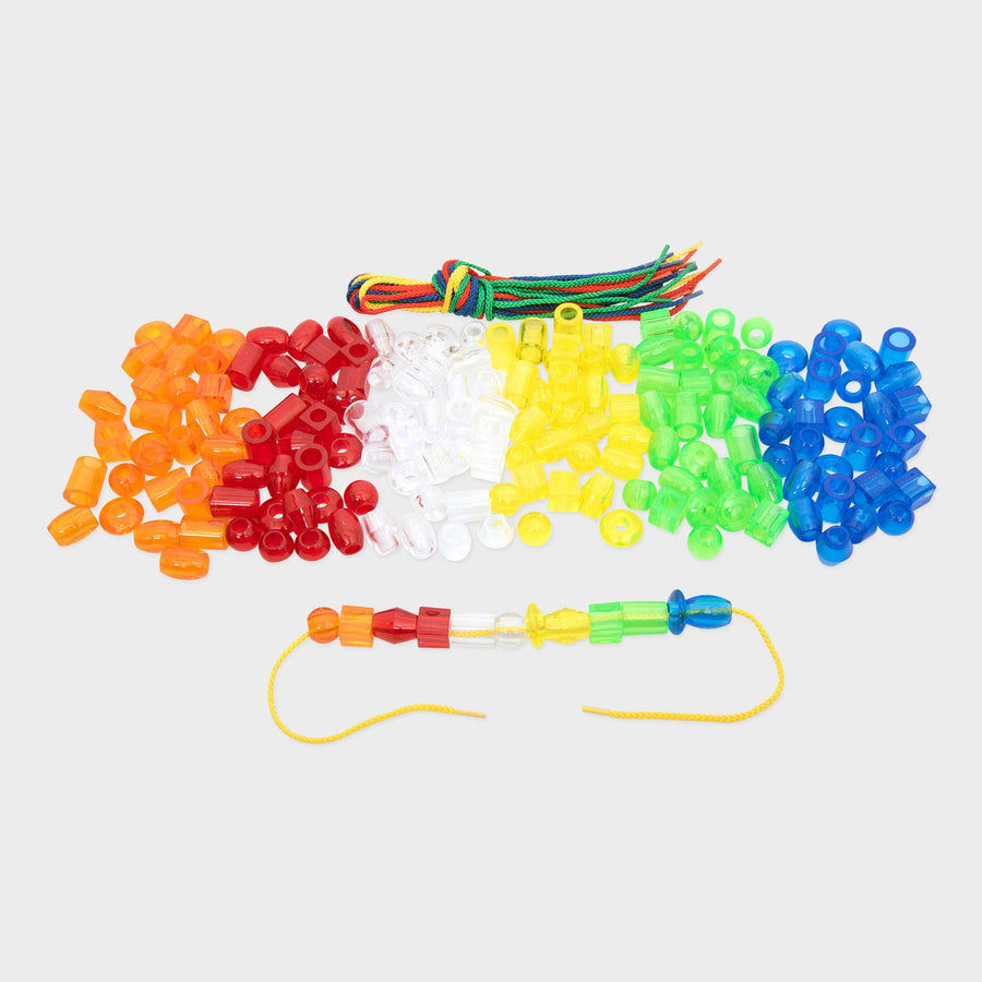 Translucent Jumbo Lacing Beads
