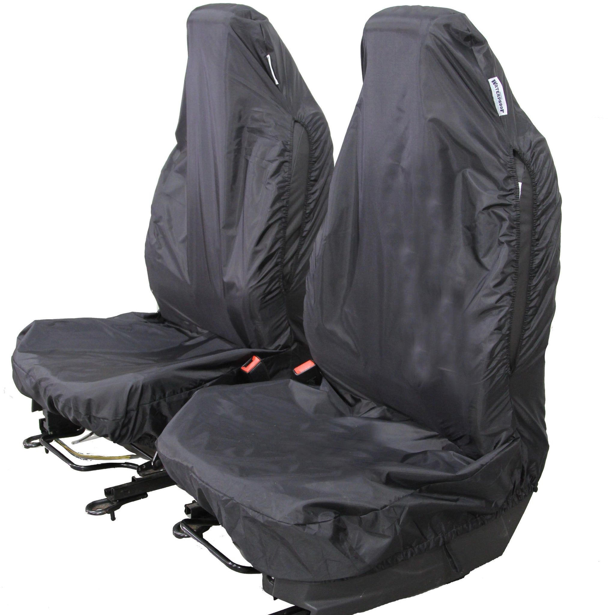 2x CAR FRONT SEAT COVERS PROTECTOR For Ford Transit Connect