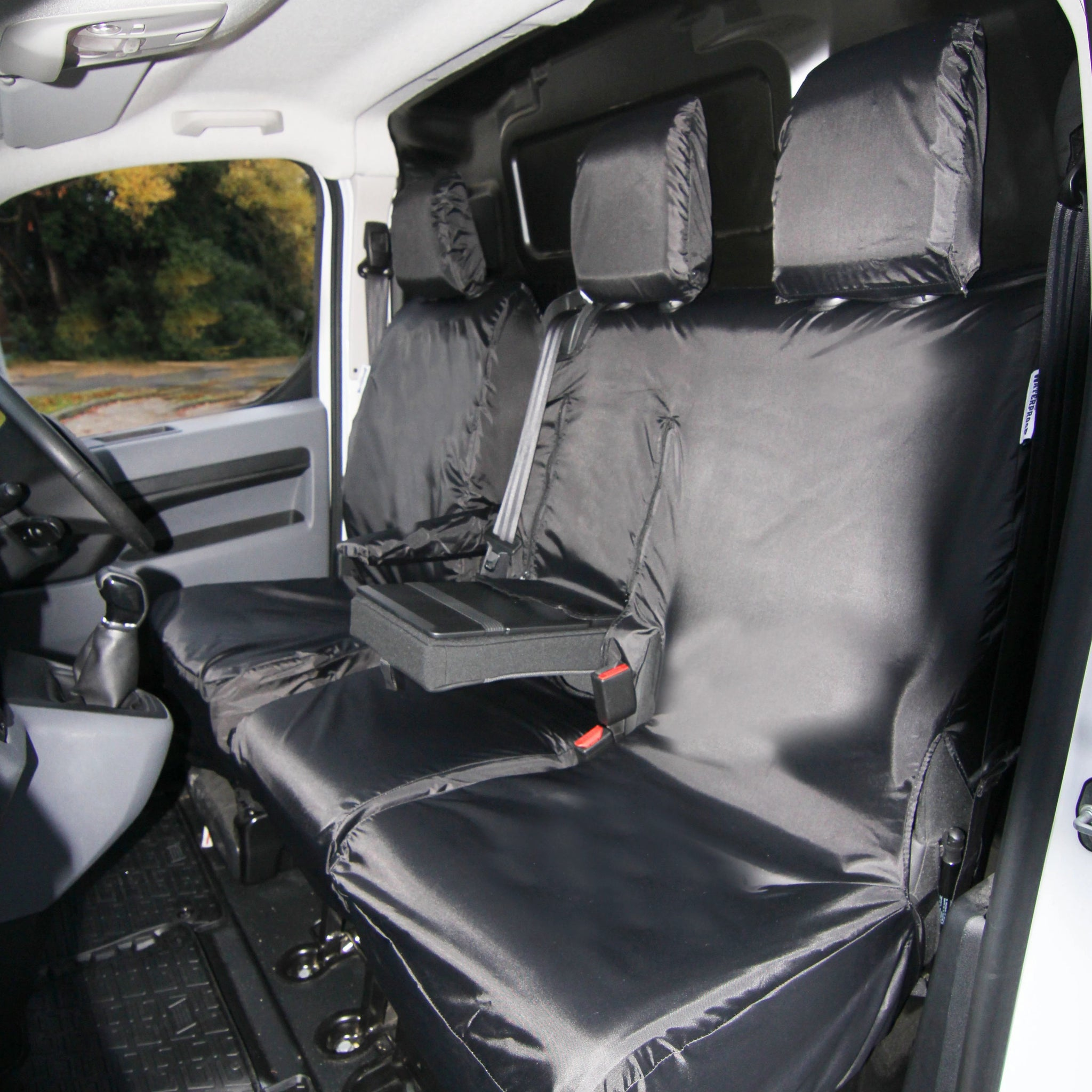 MERCEDES VITO 2+1 Van Seat Custom Covers protectors 100/% WATERPROOF HEAVY DUTY