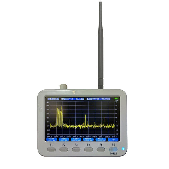 New Handheld 10MHz~2.7GHz Spectrum Analyzer