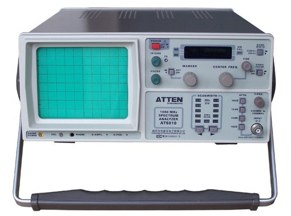 ATTEN AT5010 Spectrum Analyzer 150KHz-1050MHz analyzer spectrum atten spectrum analyzer spectrum analyzer