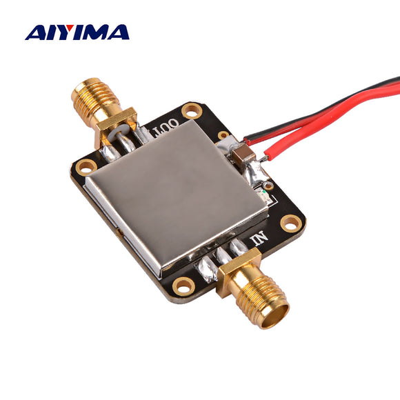AIYIMA 50M-6GHz RF Amplifier Board Broadband Gain Amplification Low Noise Medium Amplifier Module Gain 19dB For FM GPS WIFI