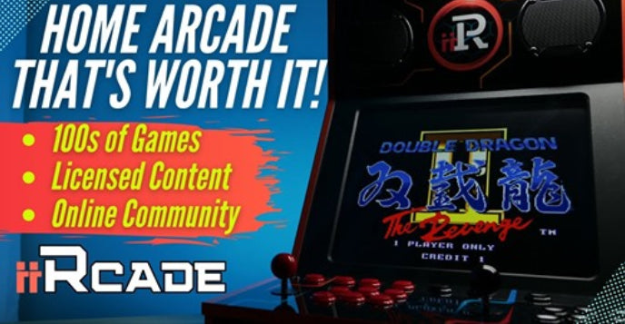 VIDEO: Home Arcade That's Worth It !? iiRcade Review