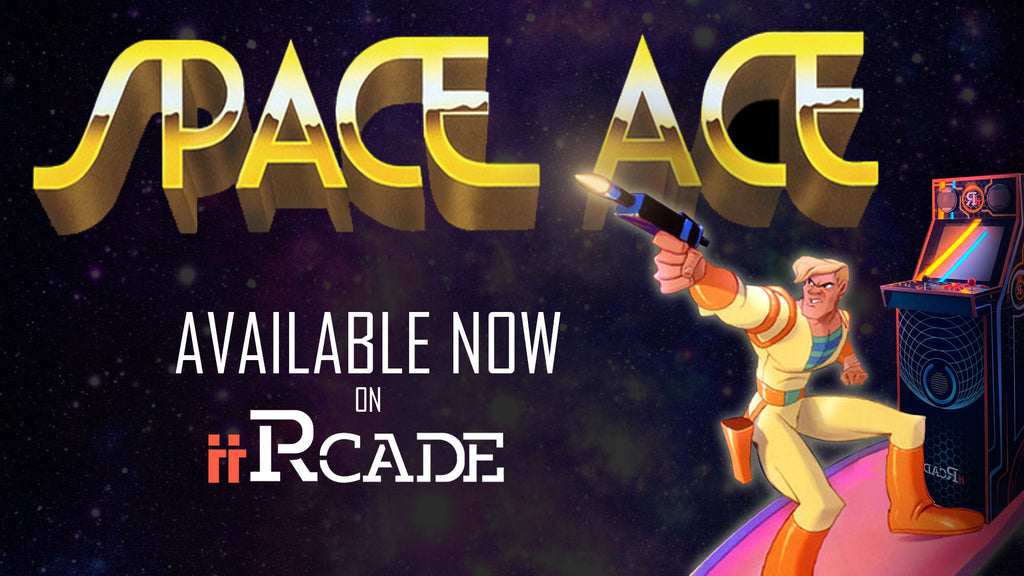 iiRcade Completes Dragon's Lair Collection with Release of Space Ace