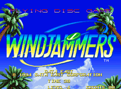 90's Flying Power Disc Arcade Game, Windjammers, Headed to iiRcade
