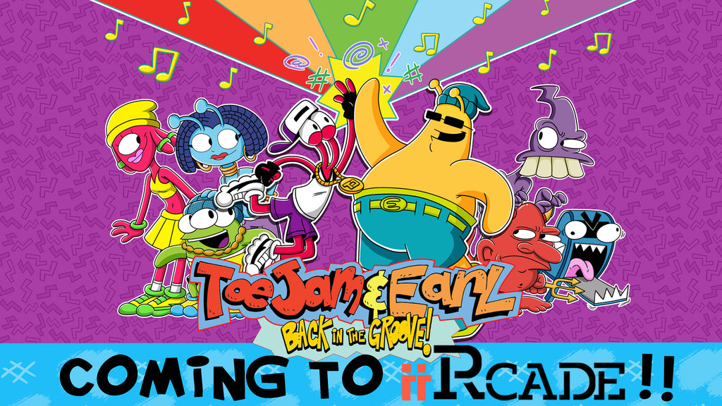 ToeJam & Earl: Back in the Groove Coming to iiRcade