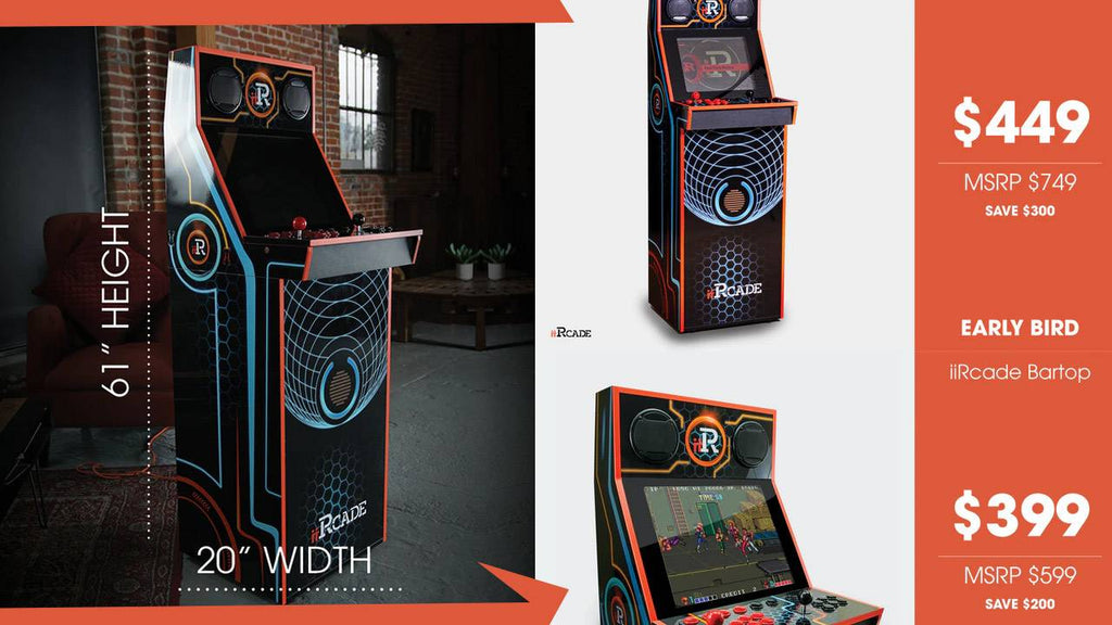 iiRcade puts arcade box in your home for around $400