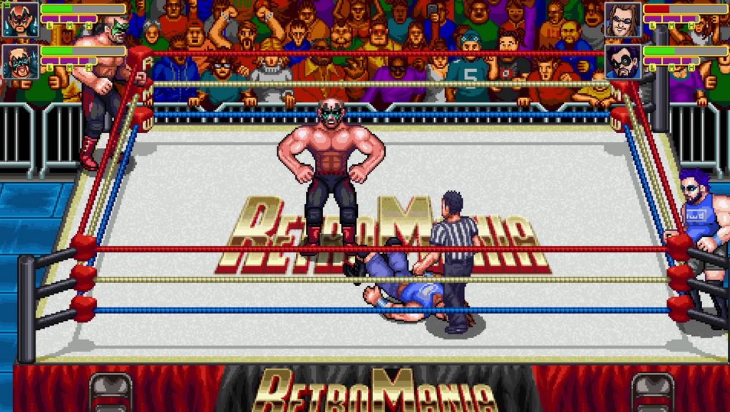 Operation Sports: RetroMania Wrestling, the Sequel to WWF Wrestlefest, Arrives in February 2021 - Trailer & Some Features Revealed