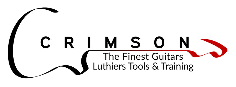 Crimson Logo - The Finest Guitars, Luthiers Tools & Training