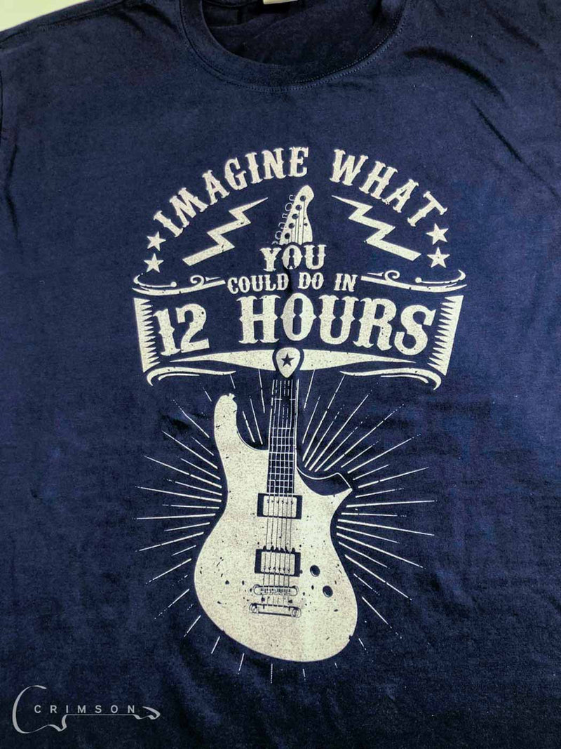 Navy 12 Hour Design t-shirt