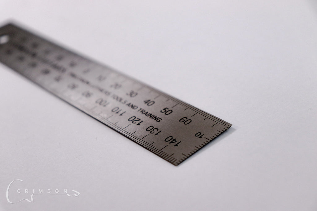 150mm Steel Ruler