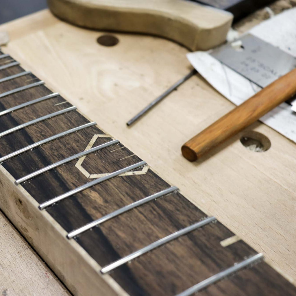 1 Day Course - fretboard Inlay