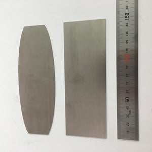 Large Cabinet Scraper Tools - Flat or Curved