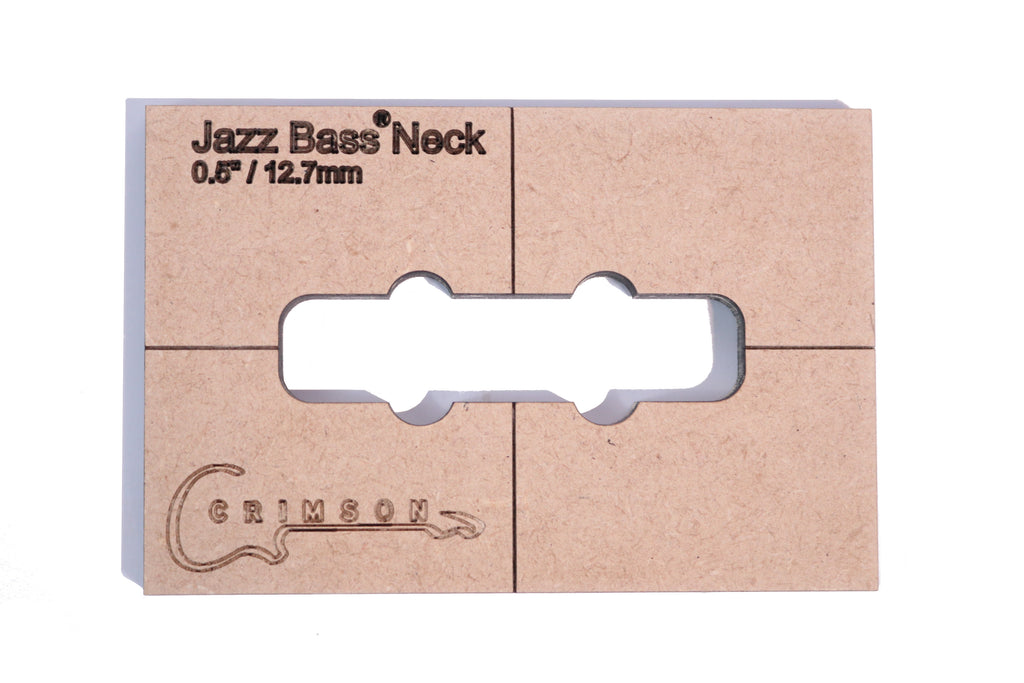 "Jazz Bass Neck 0.5"" / 12.7mm"