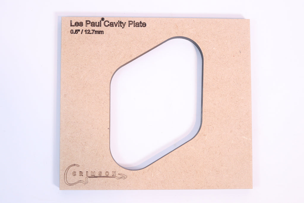 "Les Paul Cavity Plate 0.5"" / 12.7mm"