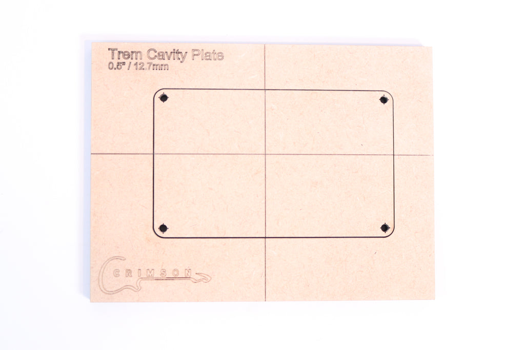 "Trem Cavity Plate 0.5"" / 12.7mm"