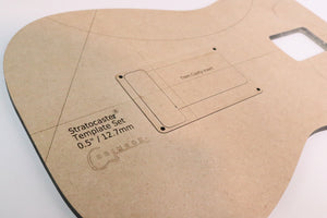 Fender Stratocaster Template Set
