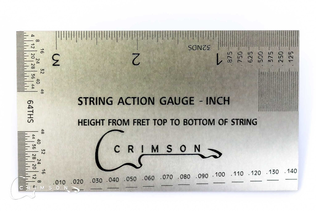 String Action Gauge - Imperial
