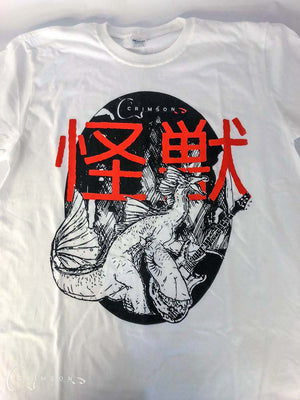T-Shirt Kaiju White