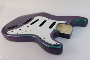 Kit Body S-type with Trem Colour Shift Ultra Violet to Jade Green