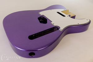 Finished Kit Guitar T-type Metallic Purple Gloss