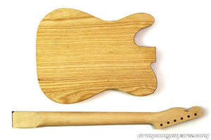 UK made T-Type Kit Guitar Body and Neck