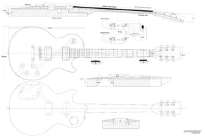 Guitar Plans - LP-type