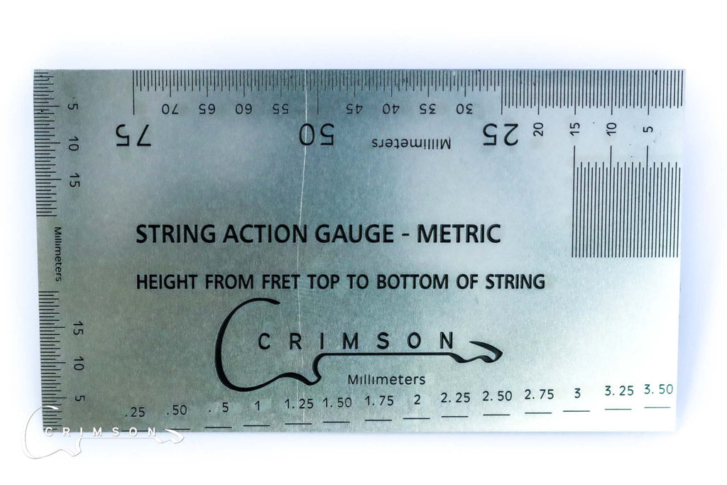 String Action Gauge - Metric