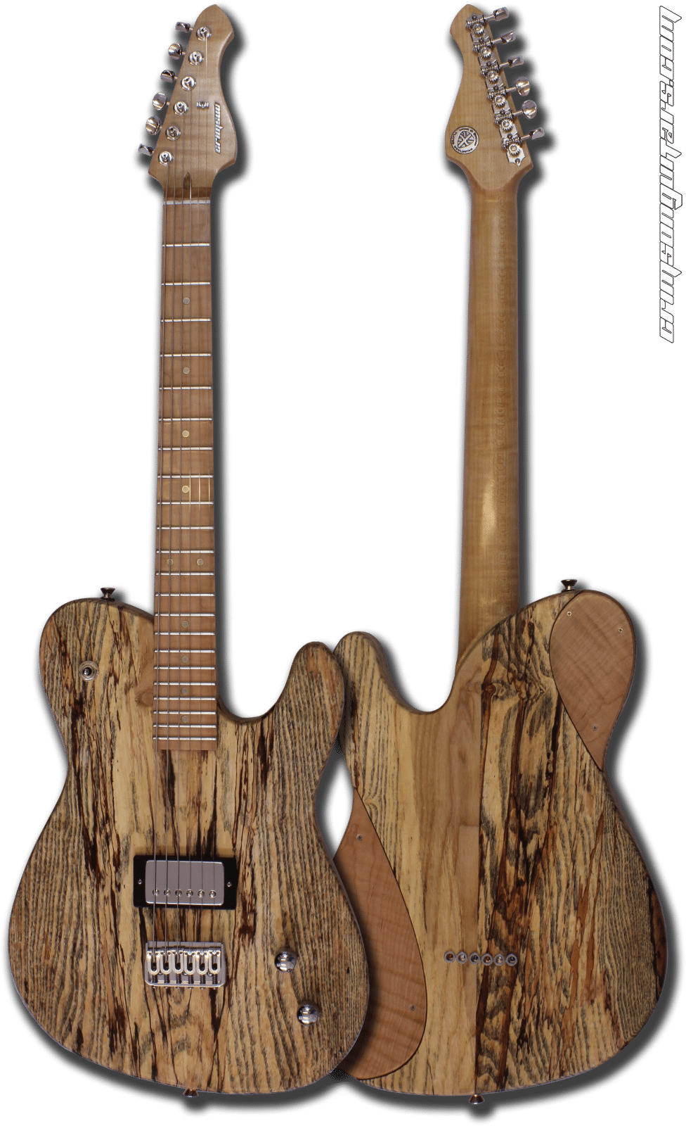 Raw Series Descendant Lake Ash with Flamed Maple Front & Back
