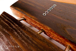 Burnt Copper Rodded PR0119 Back Split Detail
