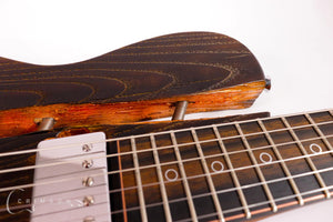 Burnt Copper Rodded PR0120 Fretboard