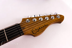 Burnt Copper Rodded PR0120 Headstock