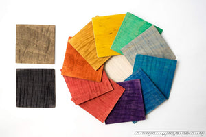Stunning Stain Swatches Colour Wheel