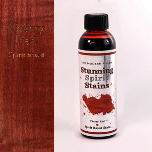 Cherry Red Spirit Based Stunning Stain