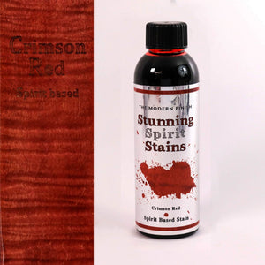 Crimson Red Spirit Based Stunning Stain