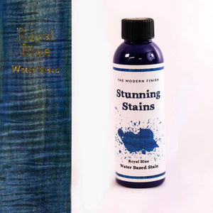 Royal Blue Water Based Stunning Stain