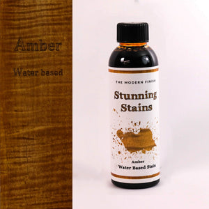 Amber Water Based Stunning Stain