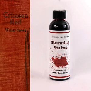 Crimson Red Water Based Stunning Stain