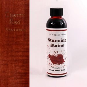 Cherry Red Water Based Stunning Stain